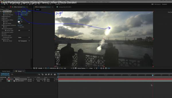 After Effects lans yapımı